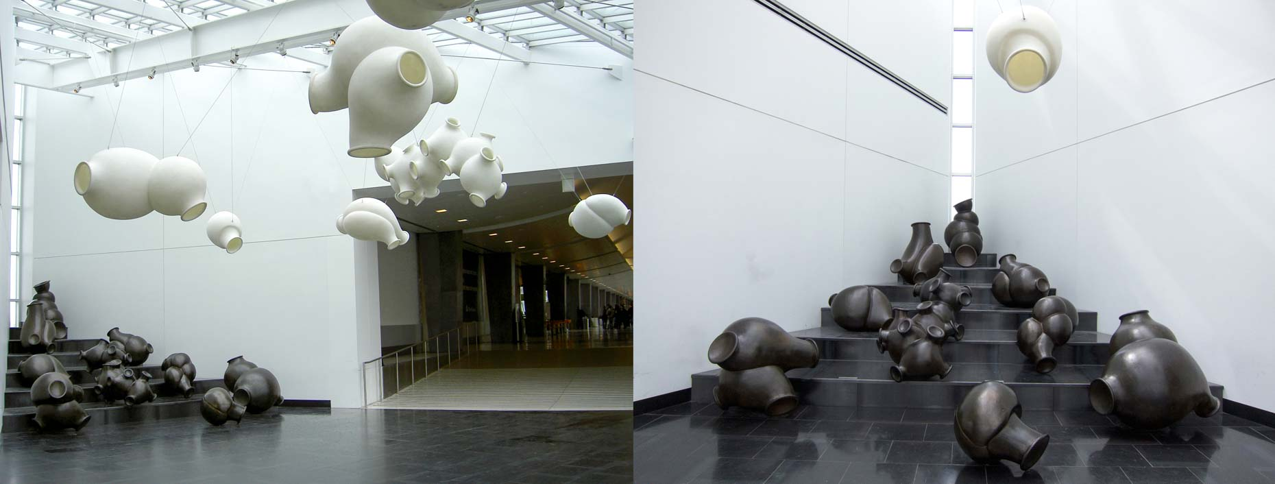 cloudsandclunkers,  2003, installation view Seattle-Tacoma International Airport